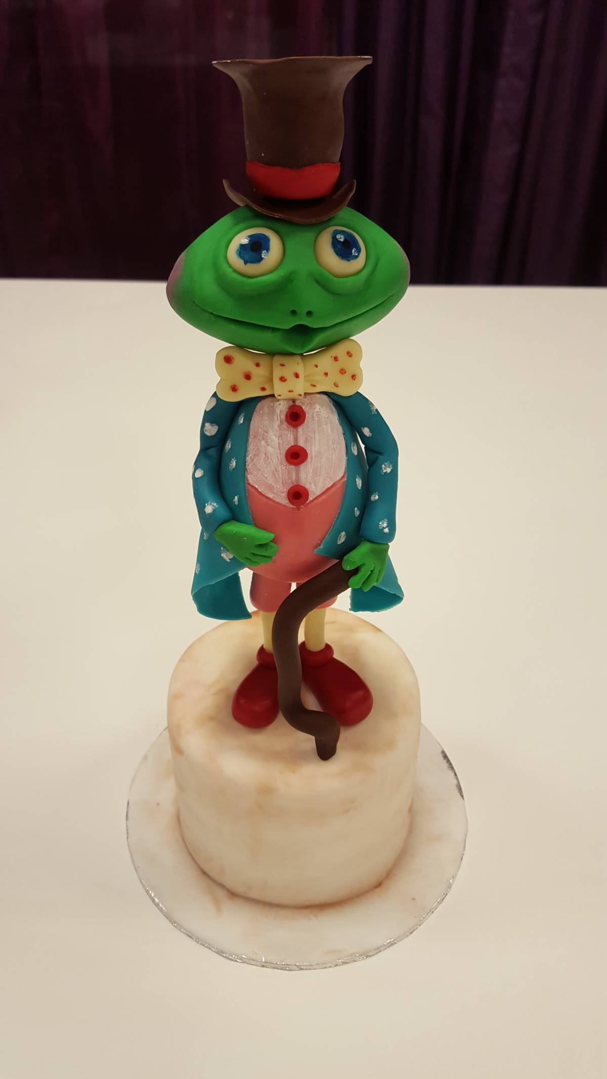 Mr Frog, taarttopper